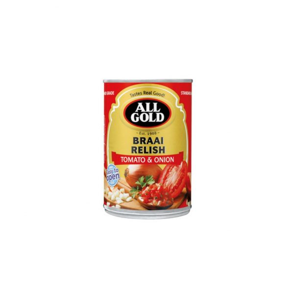 All Gold Braai Relish 6001059951446 front