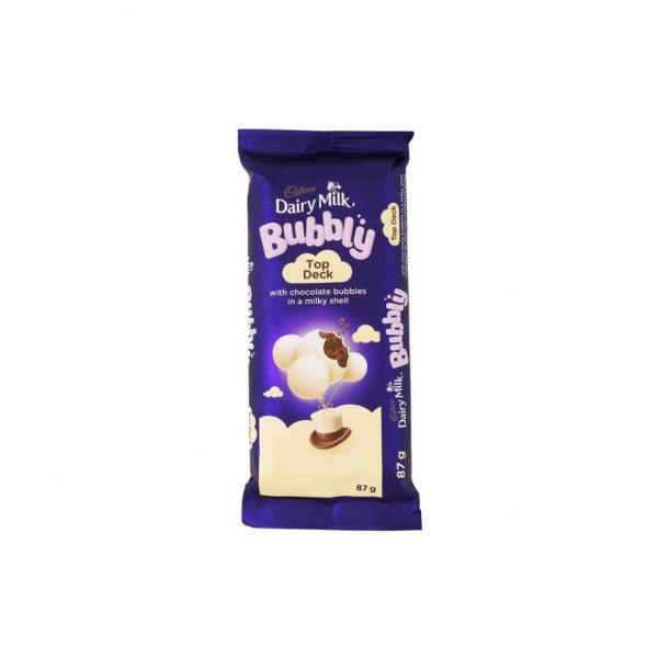 Cadbury Dairy Milk Bubbly Top Deck 87g 7622210846396