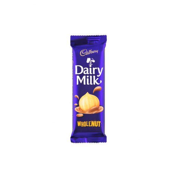 Cadbury Dairy Milk Wholenut 80g 6001065036144
