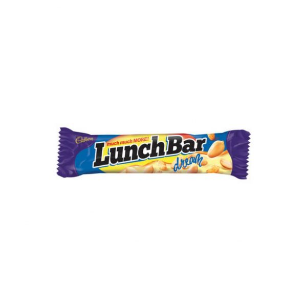 Cadbury Lunch Bar White 6001065034010 front