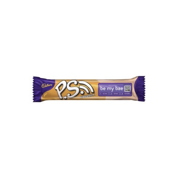 Cadbury PS Caramilk 6001065034089 front