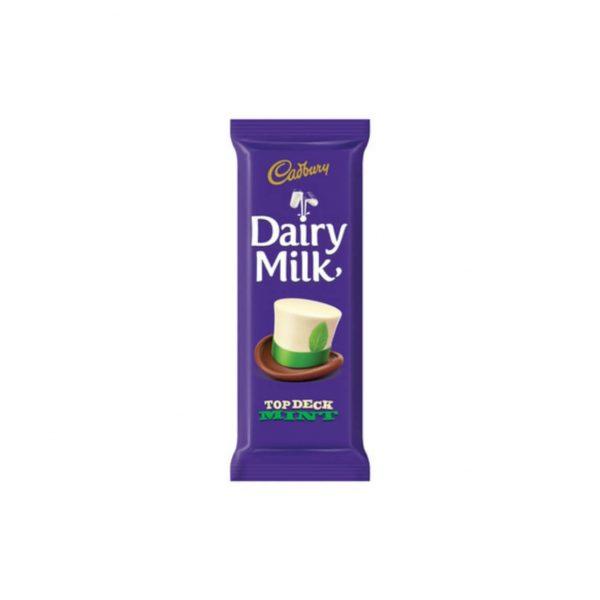 Cadbury Top Deck Mint 80g 6001065601113 front
