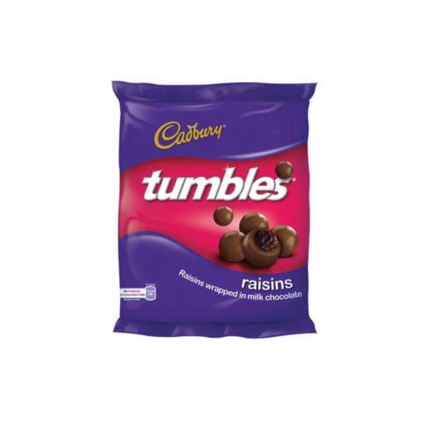 Cadbury Tumbles Raisin 6001065033501 front