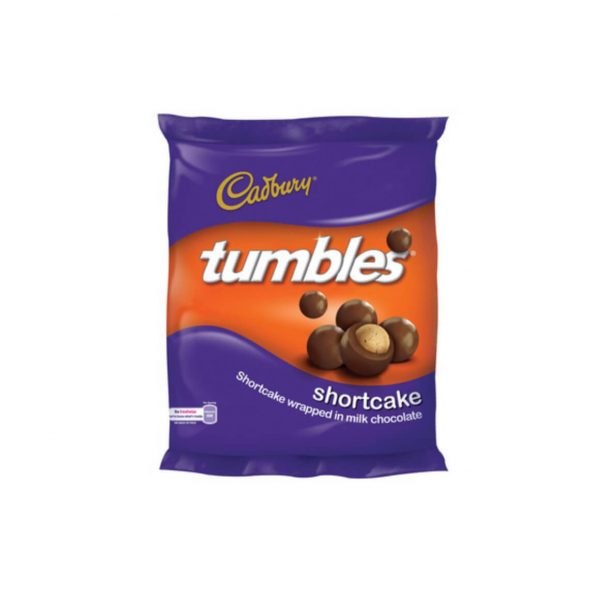 Cadbury Tumbles Shortcake 6001065033464 front