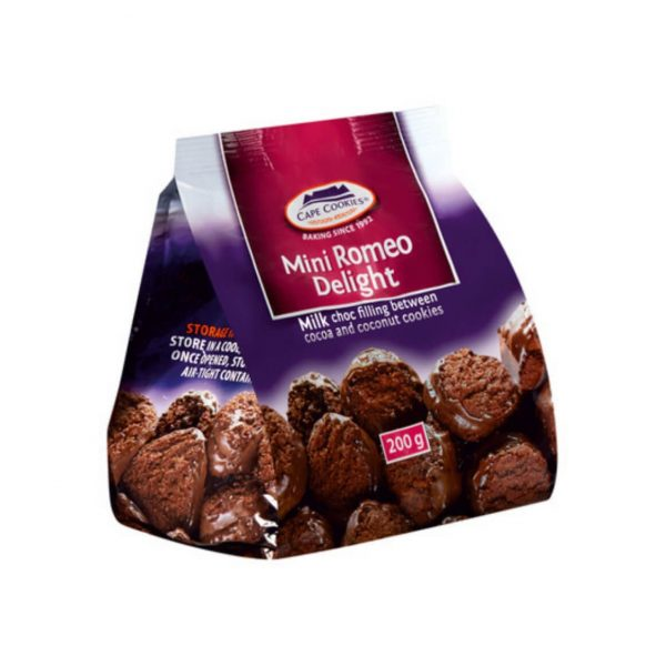 Cape Cookies Romeo Delight 200g 6009602781632 front