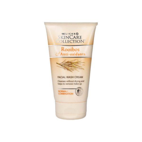 Clicks Rooibos Anti Oxidants Facial Wash Cream