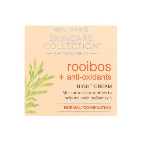 Clicks Rooibos Anti Oxidants Night Cream 50ml