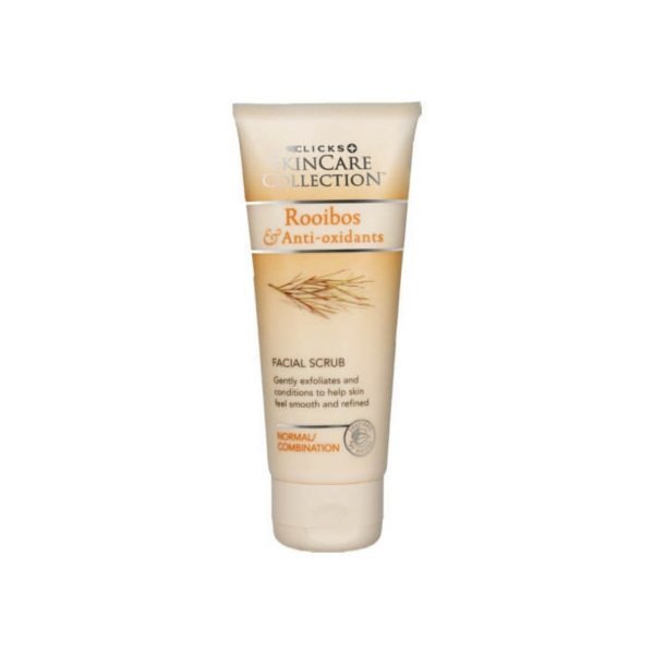 Clicks Rooibos Anti Oxidants facial Scrub 100ml