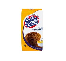 Golden Cloud Bran Muffin