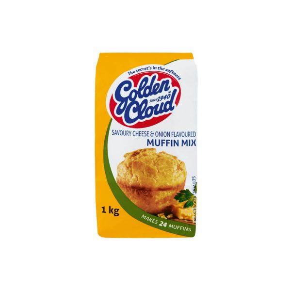 Golden Cloud Savoury Muffin
