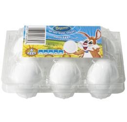 Hens Eggs 6 Pack