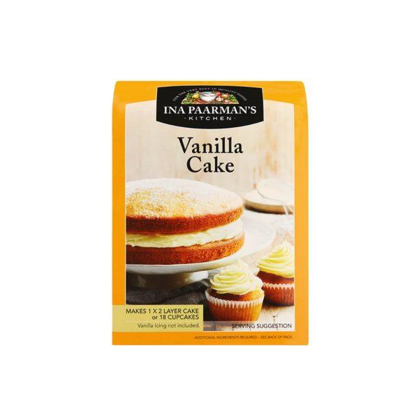 Ina Paarman bake mix Vanilla front