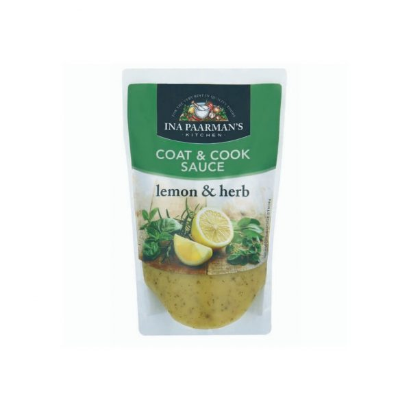 Ina Paarman coat cook sauce lemon herb 200ml
