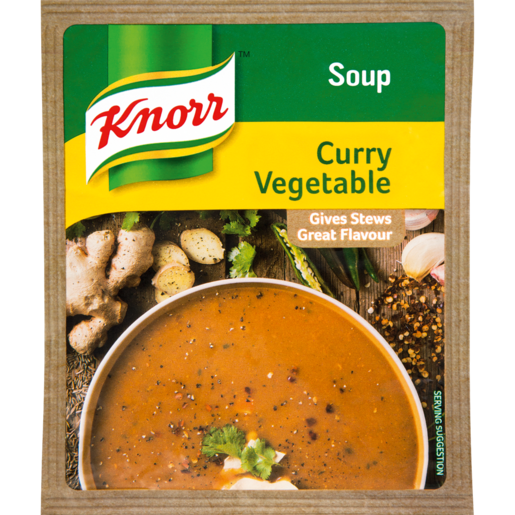 Knorr Curry & Vegetable Soup Packet 50g