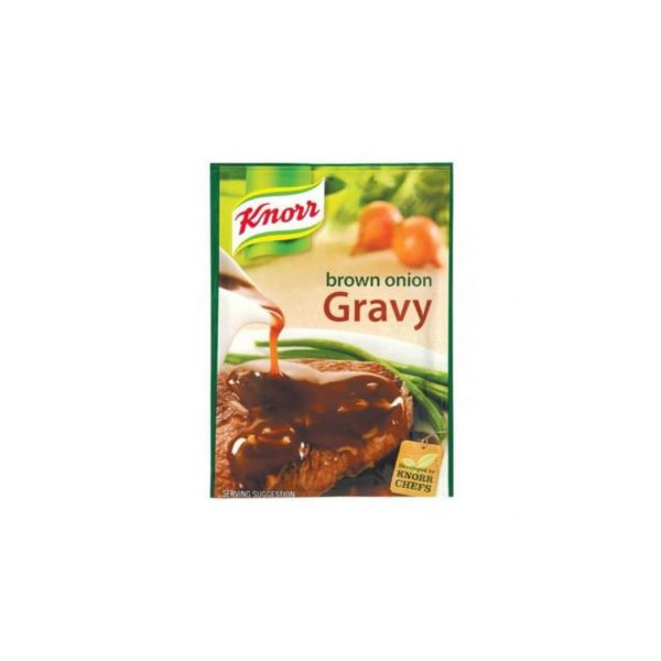 Knorr Gravy Brown Onion 6009001001218 front