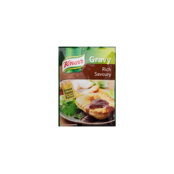 Knorr Gravy Rich Savoury 6009001001270 front