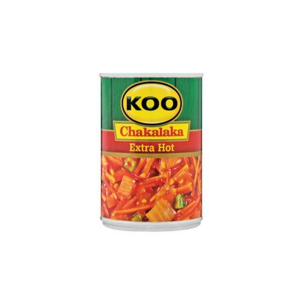 Koo Chakalaka Extra Hot 6001059946381 front