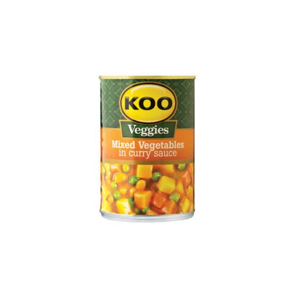 Koo Mixed Vegetable Curry 6009522300296 front