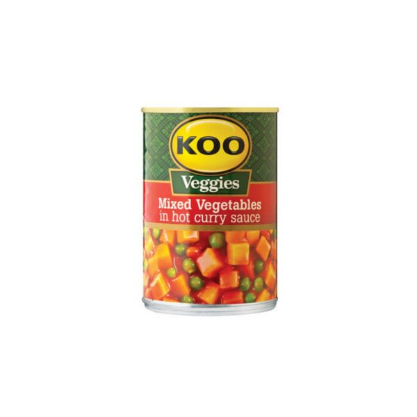 Koo Mixed Vegetable Curry Hot 6009522300289 front