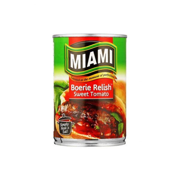 Miami Boerie Relish