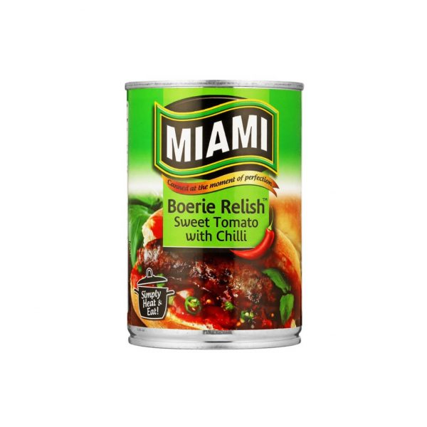 Miami Boerie Relish Chilli