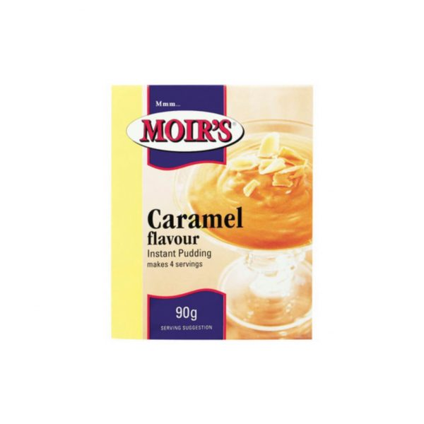 Moirs Pudding Caramel 6001325110317 front