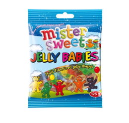 Mr Sweets Jelly Babies 125g