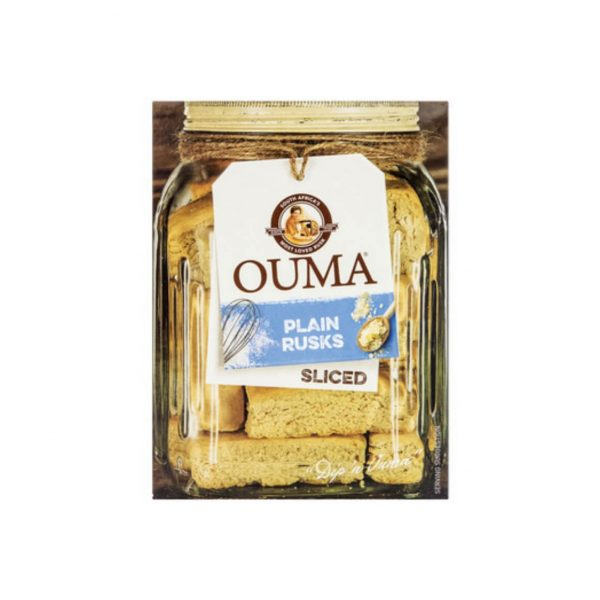 Ouma Sliced Plain 450g 6001069600761 front