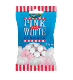 Pink and White Peanuts