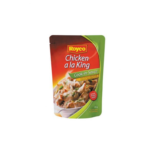 Royco Cook in Sauce Chicken ala King 6009682951635 front