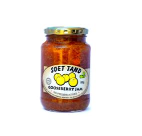 Soet Tand Gooseberry Jam 500g 2