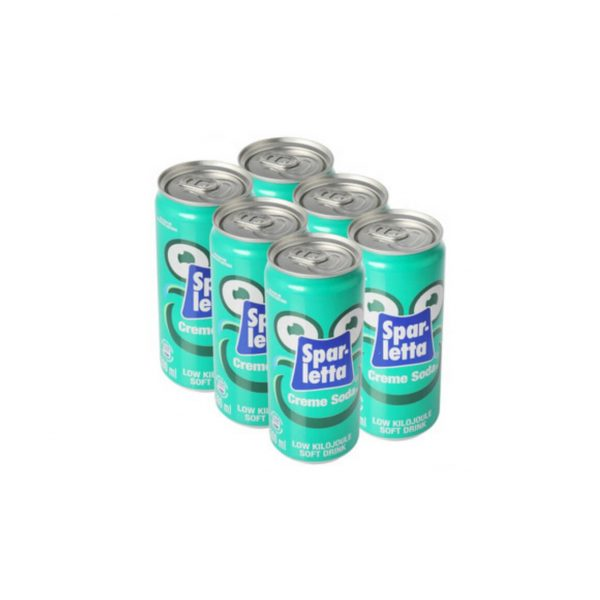 Sparletta Creme Soda 300ml 6 pack