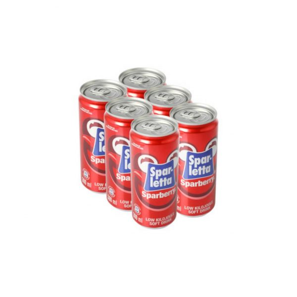 Sparletta Sparberry 300ml 6 pack