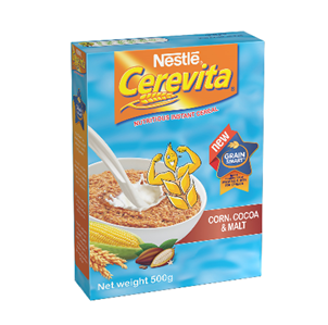 cerevita corn and choc