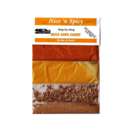 nice and spicy mild cape curry 1