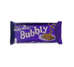 Cadbury Bubbly Milk Choc 87g 1
