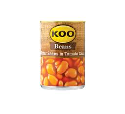 Koo Butter Beans Tomato Sauce 1