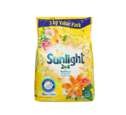 Sunlight 2 in 1 3kg Laundry Powder
