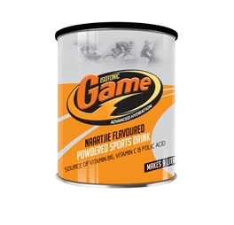 Isotonic Game Naartjie Flavoured Powered Sports Drink