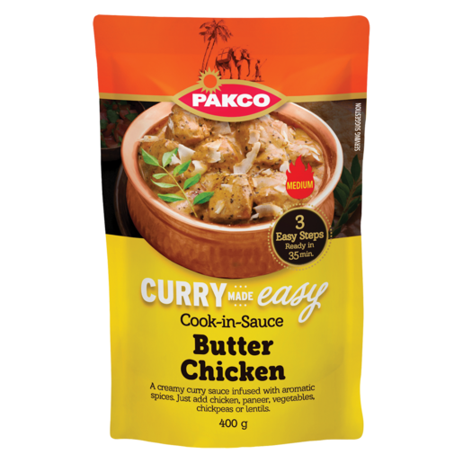 Pakco Butter Chicken Cook In Sauce 400g