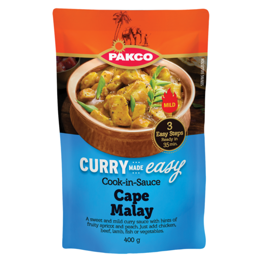 Pakco Cape Malay Cook In Sauce 400g