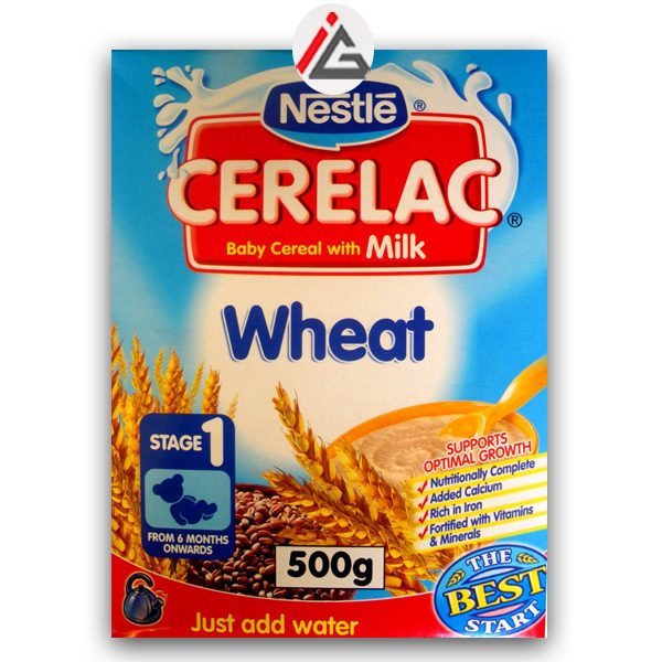 nestle cerelac baby cereal with milk and wheat stage 1 500 gm