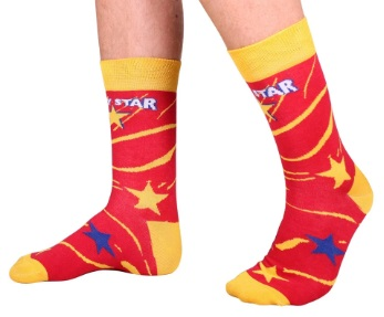 Socks Lucky star