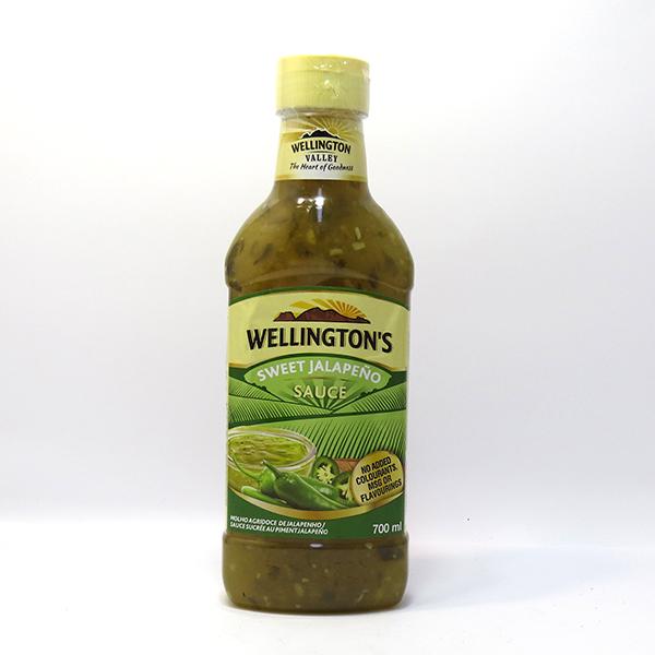 Wellingtons Sweet Jalapeno Sauce 700ml