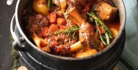 lamb and vegetable potjie 4